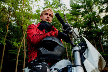 "Ryan Gosling as Luke in ""The Place Beyond the Pines."""