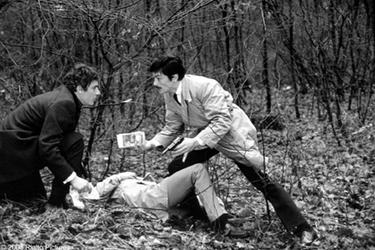 "A scene from the film ""Le Cercle Rouge."""