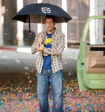 "Adam Sandler in ""Bedtime Stories."""