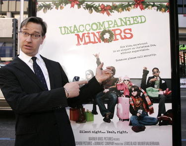 "Director Paul Feig at the Hollywood premiere of ""Unaccompanied Minors."""