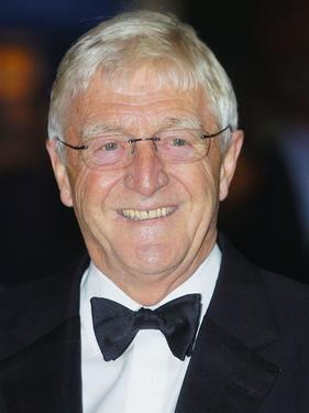 "Michael Parkinson at the Royal gala premiere of Lord Andrew Lloyd Webber's new musical ""The Woman In White."""