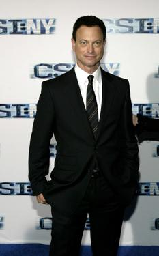 "Gary Sinise at the premiere screening of ""CSI: NY"" at the Ed Sullivan Theater."