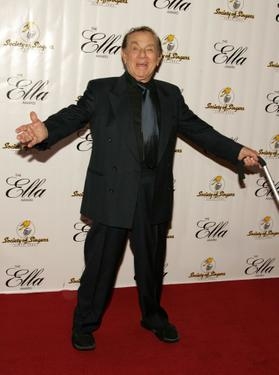 Jack Carter at the Society of Singers 14th Annual Ella Award honoring Sir Elton John.