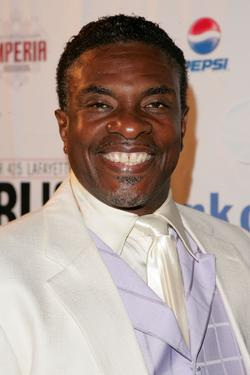 "Keith David at the after party for the opening of ""A Midsummer Night's Dream""."