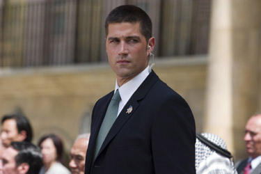 "Matthew Fox in ""Vantage Point."""