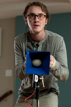 "Tom Felton in ""The Apparition."""