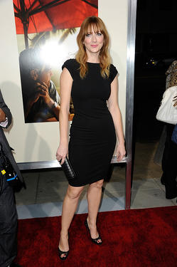 "Judy Greer at the California premiere of ""The Descendants."""