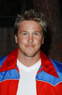 "Lochlyn Munro at the premiere of ""Swimfan."""