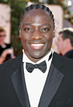 Adewale Akinnuoye-Agbaje at the 63rd Annual Golden Globe Awards.