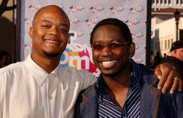 "Todd Bridges and Guy Torry at the ""First-Ever"" BET Comedy Awards."