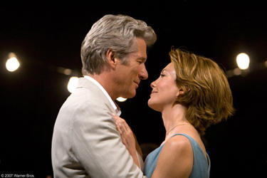 "Richard Gere and Diane Lane in ""Nights in Rodanthe."""