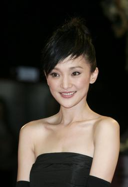 "Zhou Xun at the premiere of ""The Banquet"" during the 63rd Venice Film Festival."