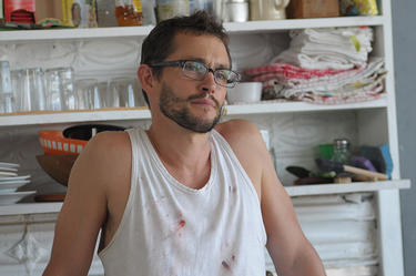 "Hugh Dancy as Christian in ""Our Idiot Brother."""