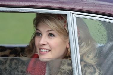 "Rosamund Pike as Helen in ""An Education."""