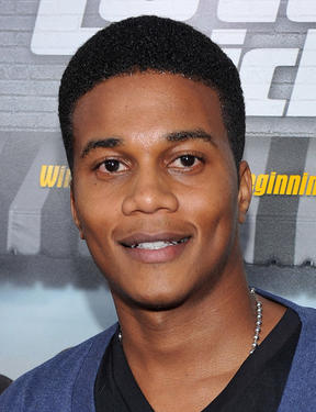 "Cory C. Hardrict at the California premiere of ""Lottery Ticket."""