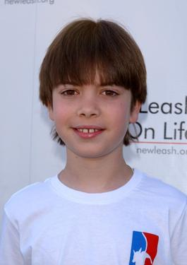Alexander Gould at the 4th Annual Nuts For Mutts dog show.