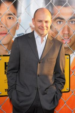 "Rob Corddry at the California premiere of ""Harold and Kumar Escape from Guantanamo Bay."""
