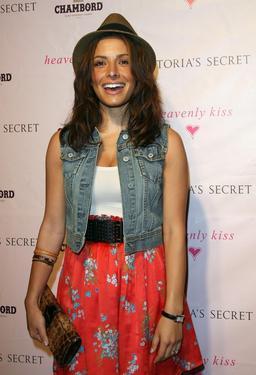 "Sarah Shahi at the launch of Victoria's Secret's ""Heavenly Kiss"" after party."