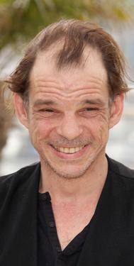 "Denis Lavant at the photocall of ""Tokyo"" during the Cannes International Film Festival."