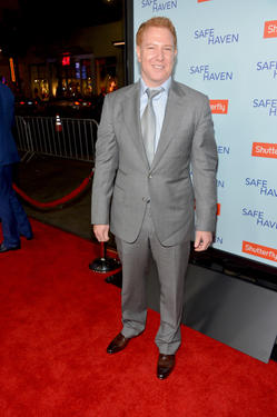 "Producer Ryan Kavanaugh at the California premiere of ""Safe Haven."""