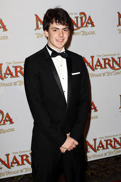 "Skandar Keynes at the world premiere of ""The Chronicles of Narnia: The Voyage of the Dawn Treader."""