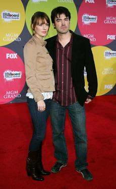 Rosemarie DeWitt and Ron Livingston at the 2006 Billboard Music Awards.