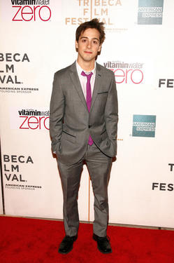 "Matt Bush at the  premiere of ""Nice Guy Johnny"" during The 2010 Tribeca Film Festival in New York."