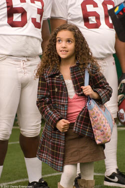 "Madison Pettis in ""The Game Plan."""
