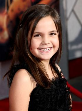 "Bailee Madison at the premiere of ""Race To Witch Mountain."""