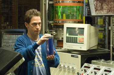 "Tim Blake Nelson in ""The Incredible Hulk."""