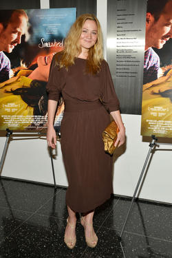 "Louisa Krause at the New York premiere of ""Smashed."""