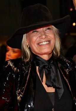 "Anita Pallenberg at the BFI 51st London Film Festival premiere of ""Mister Lonely."""