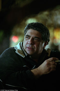 "Vincent Pastore as Zack in ""Revolver."""