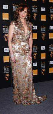 "Miranda Richardson at the ""The Orange British Academy Film Awards""."