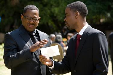 "Martin Lawrence and Chris Rock in ""Death at a Funeral."""