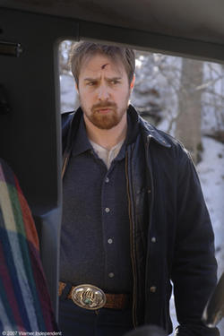 "Sam Rockwell in ""Snow Angels."""