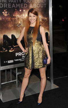"Alexis Knapp at the California premiere of ""Project X."""