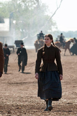 "Hailee Steinfield as Mattie Ross in ""True Grit."""