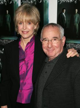 "Jill Eikenberry and Michael Tucker at the after party of the opening night of the Broadway play ""Shining City."""