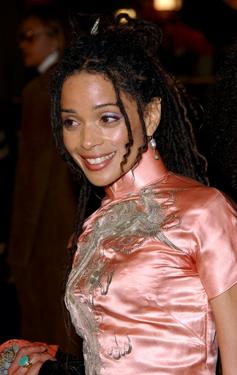 "Lisa Bonet at the premiere of ""Biker Boyz."""