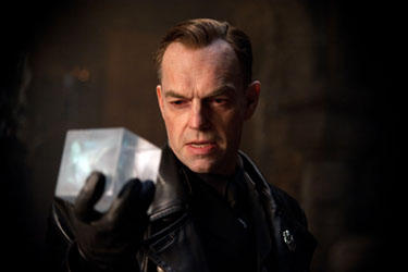 "Hugo Weaving in ""Captain America: The First Avenger."""