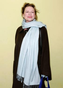 "Dianne Wiest at the after party of ""The Seagull."""