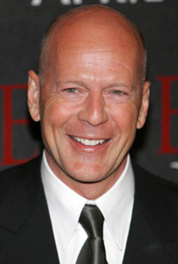 "Bruce Willis at the ""Perfect Stranger"" premiere."