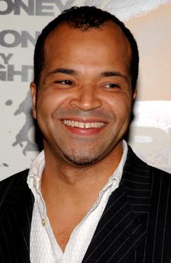 "Jeffrey Wright at the premiere for ""Syriana."""