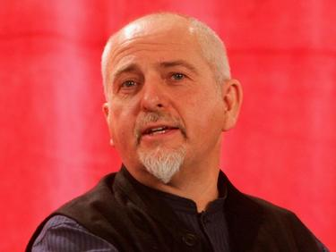 Peter Gabriel at the press conference of 2006 FIFA World Cup Gala.