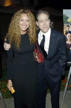 "Richard Lewis and Guest at the Los Angeles premiere of ""Curb Your Enthusiasm."""