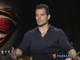 Exclusive: Man of Steel - The Fandango Interview - Click to play