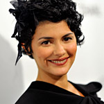 "Audrey Tautou at the L.A. premiere of ""Coco Before Chanel."""