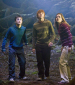 Daniel Radcliffe, Rupert Grint and Emma Watson return in the fifth Harry Potter film.