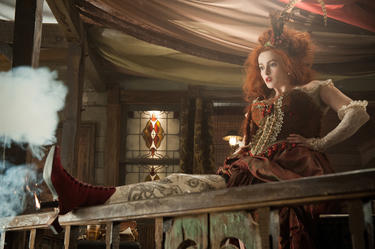 "Helena Bonham Carter as Red in ""The Lone Ranger."""